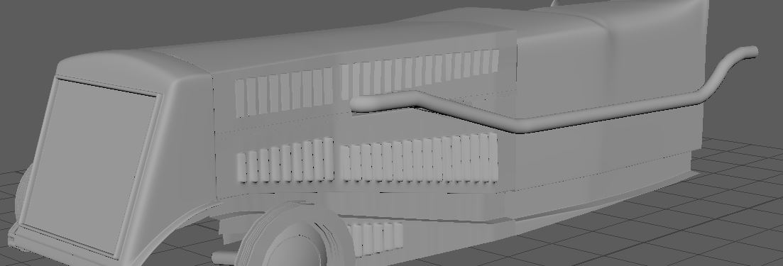 My WIP for Car challenge 2019