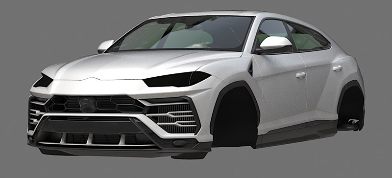 Car Render Challenge 2019 | Lamborghini Urus
