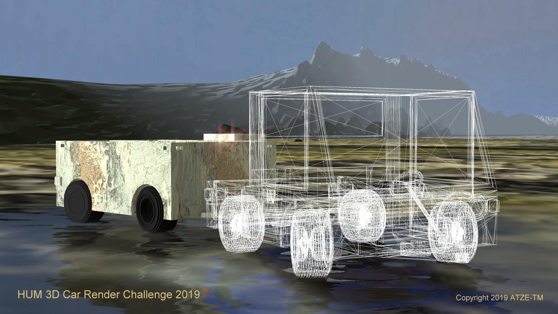 Car Render Challenge 2019 atzetm