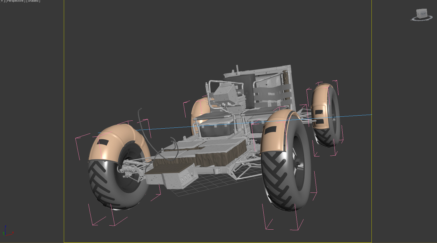 Aaand ACTION! - Space Rover 3D Competition
