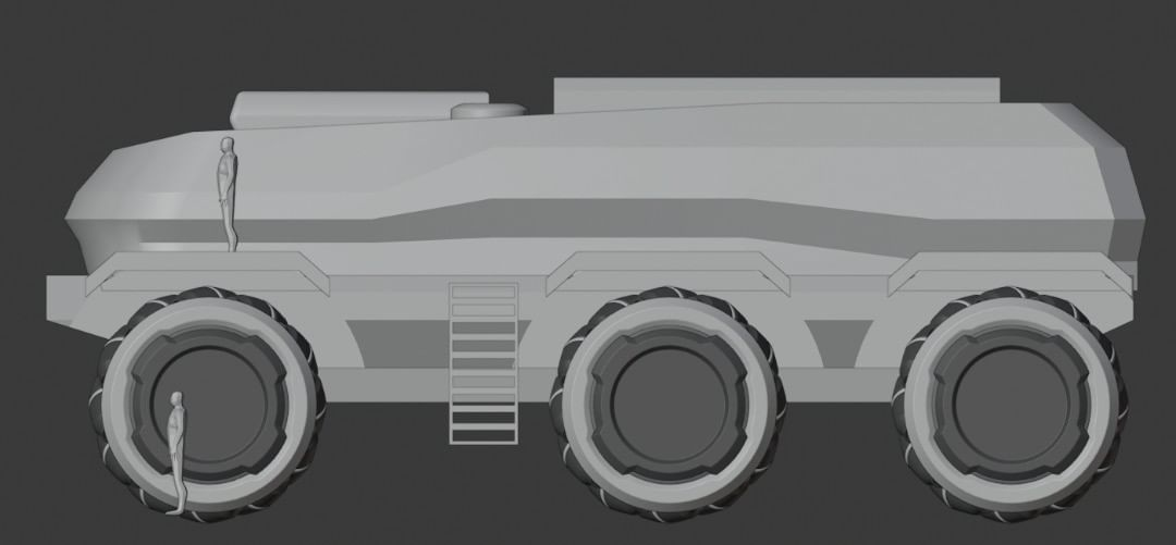 Tibbe's Space rover 2020 - WIP