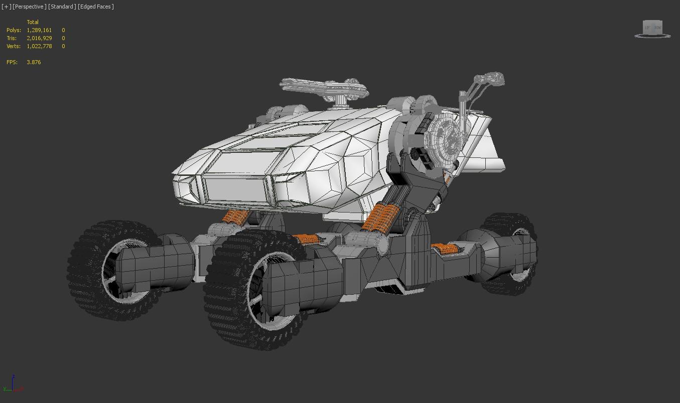 spacerover challenge wip