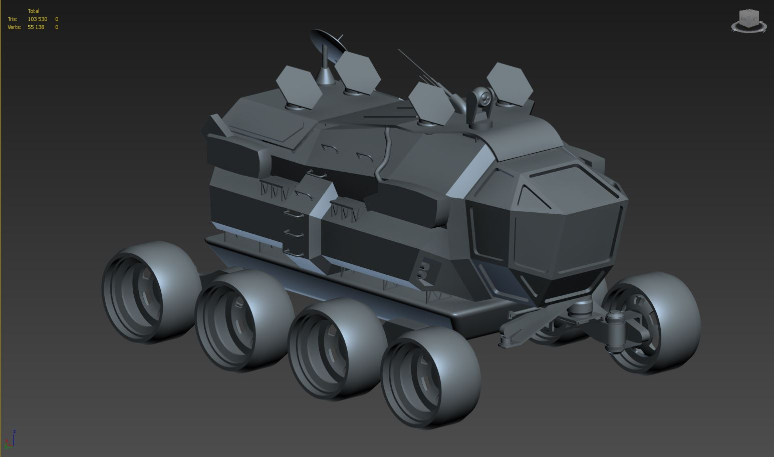 Space Rover Art Challenge (SRACh) 2020