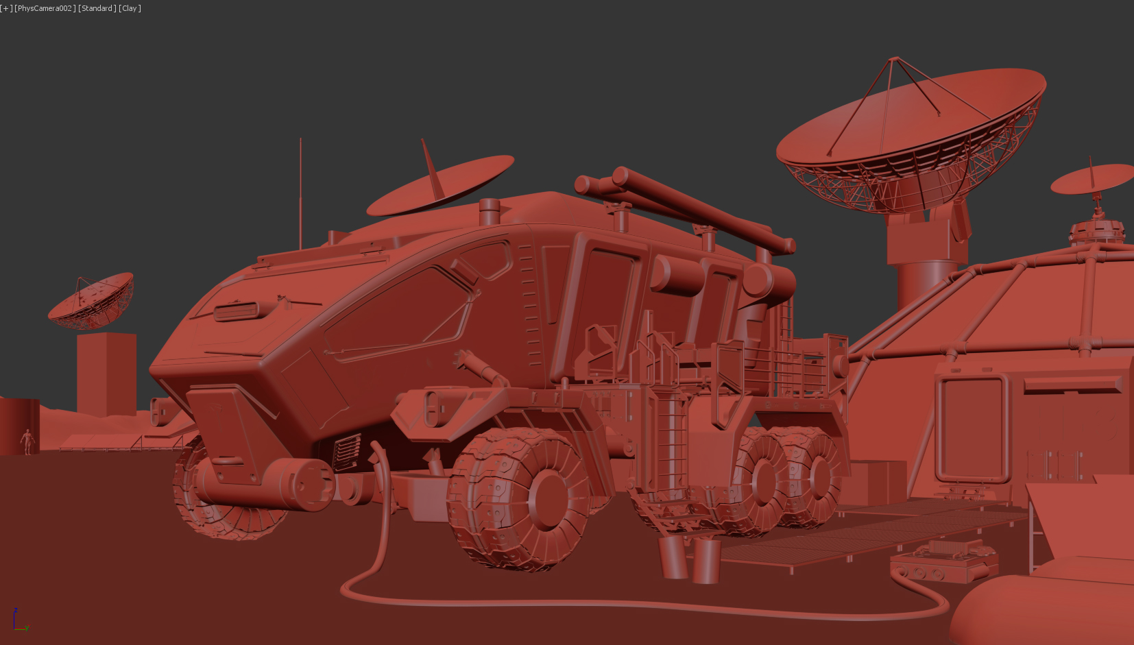 Space Rover Competition 2020 - WIP