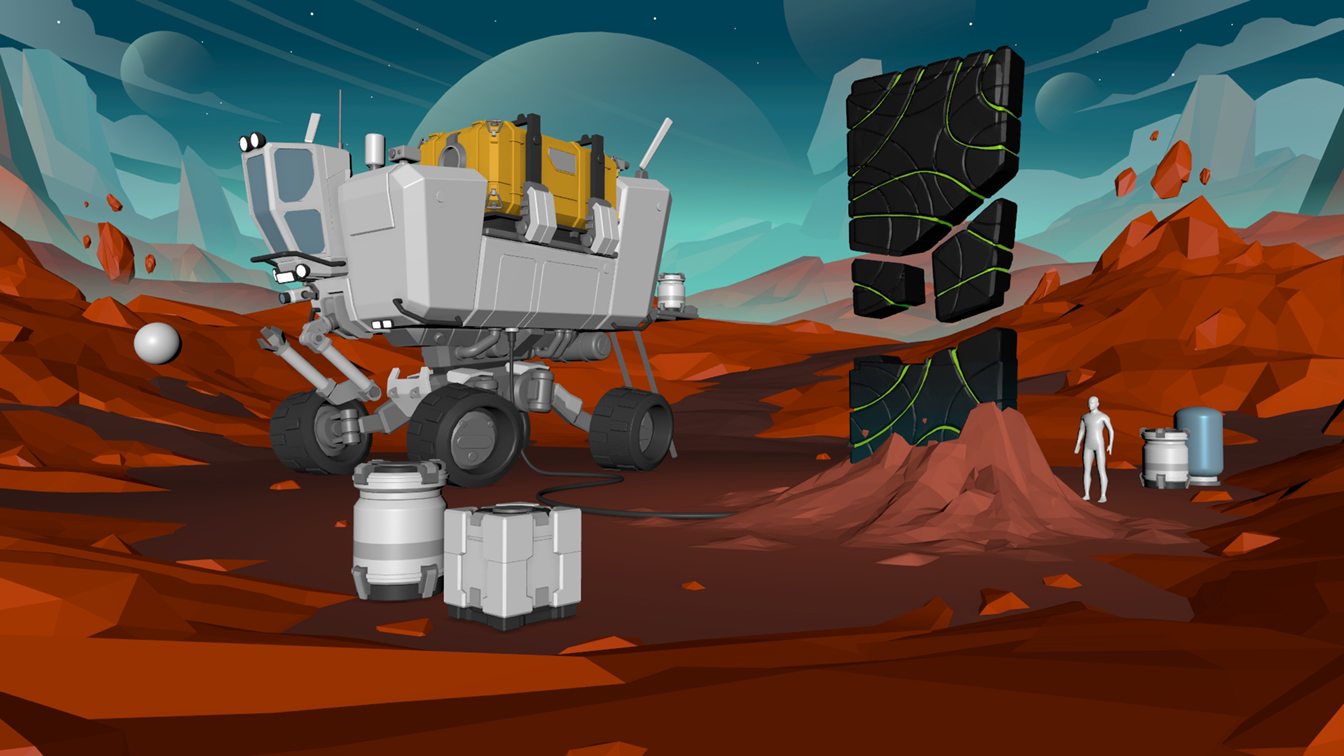 Space Rover Challenge - Surface Exploration Rover