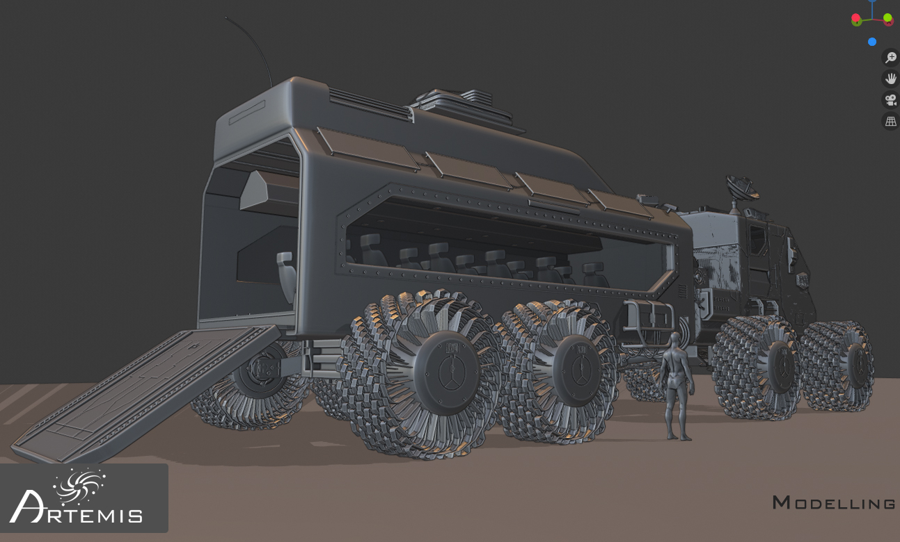 Space Rover Challenge - Artemis