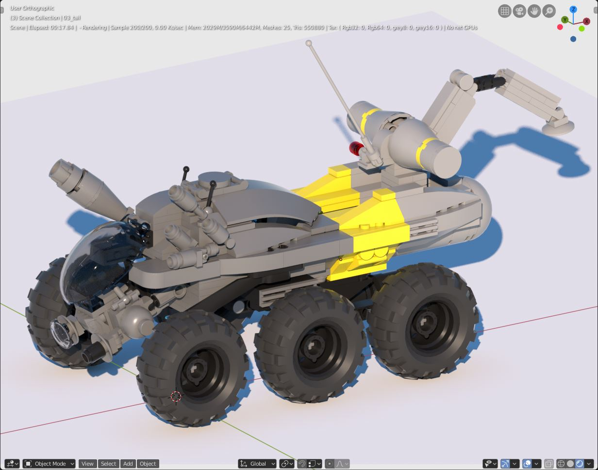 Space Rover Challenge. 2001: A Space Legodyssey