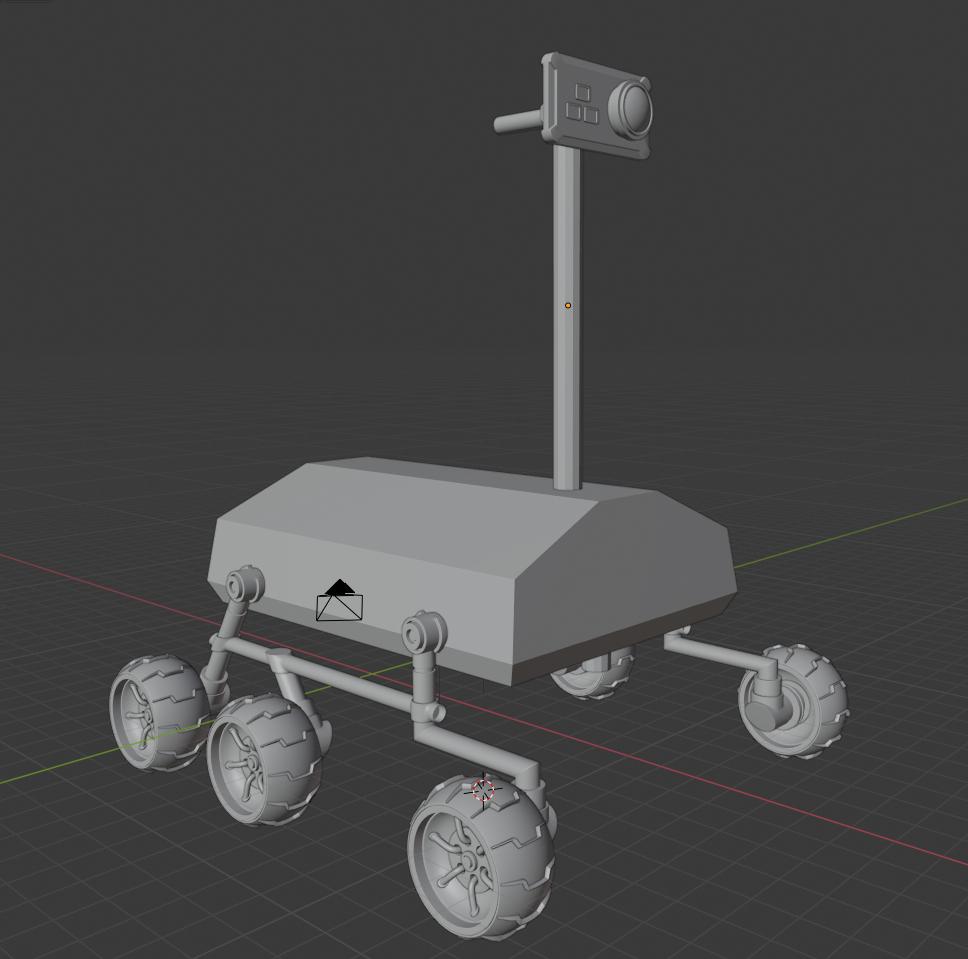 Space Rover 3D Art Challenge - Pranav V. P.