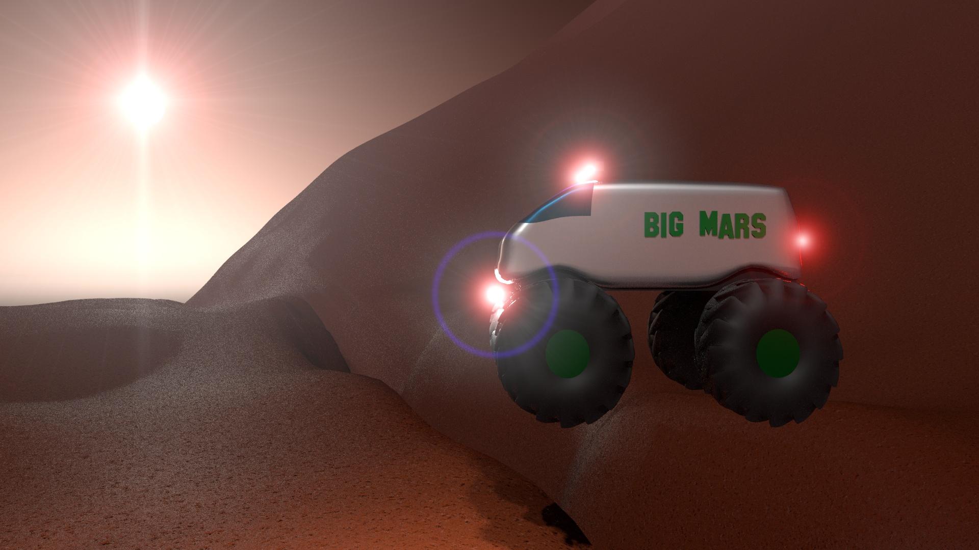 Space Rover 2020 Challenge - Big Mars