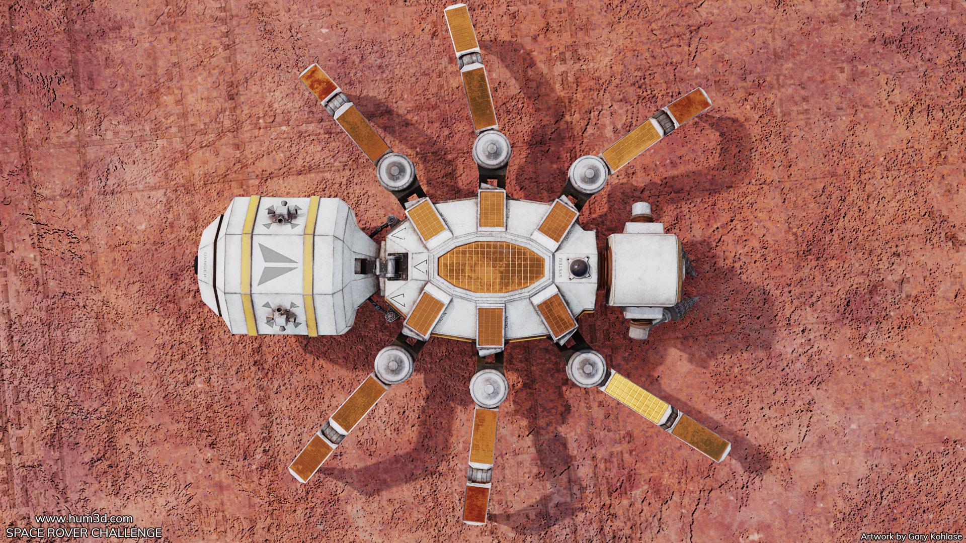 [Space Rover Challenge] Harvest Spider Drone