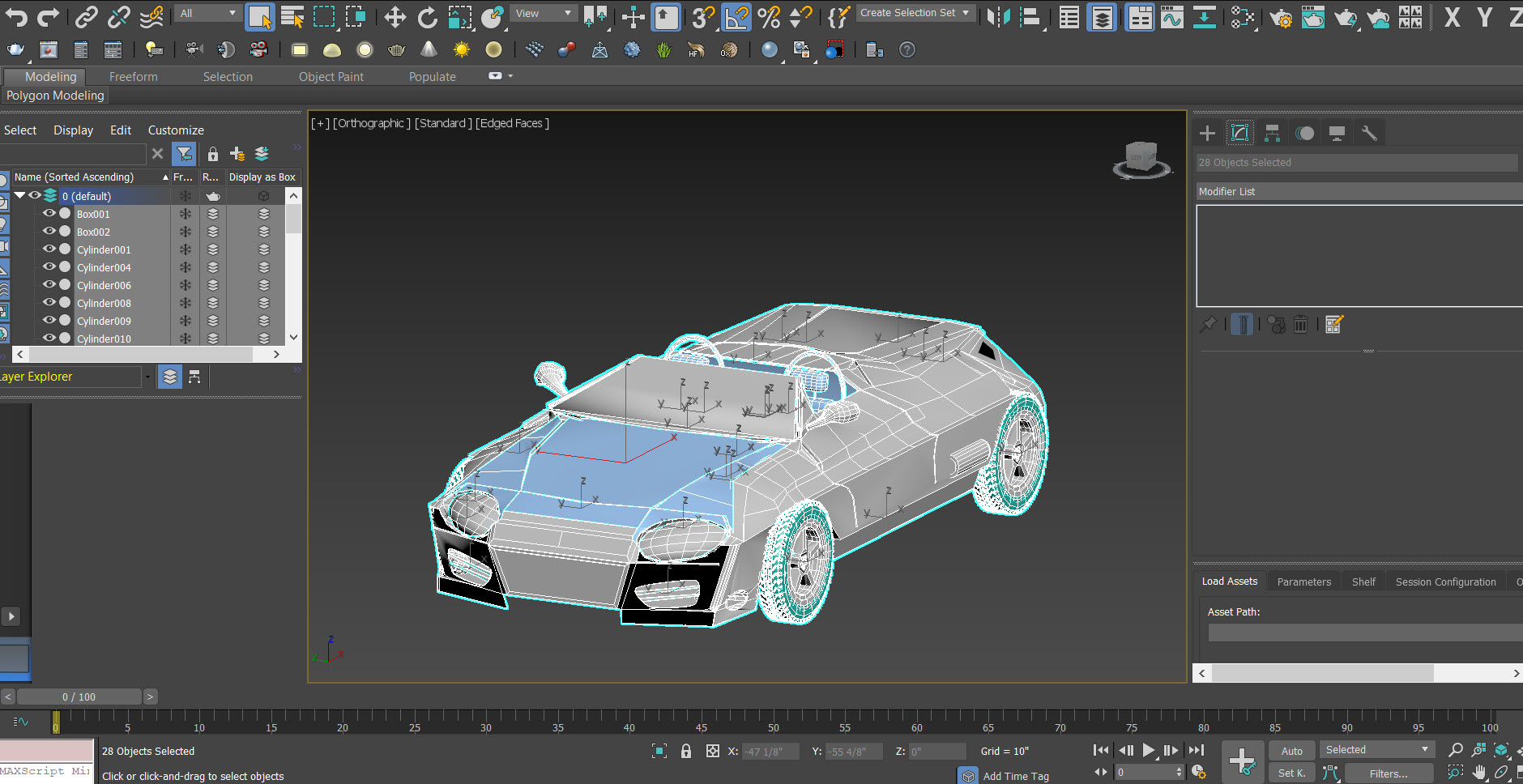 Beginner: Modeling a Car