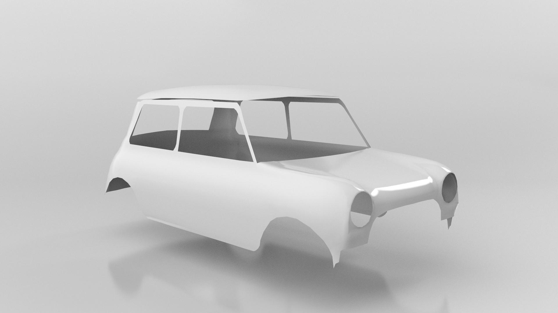 Monte Carlo Mini - Car Render Challenge 2020