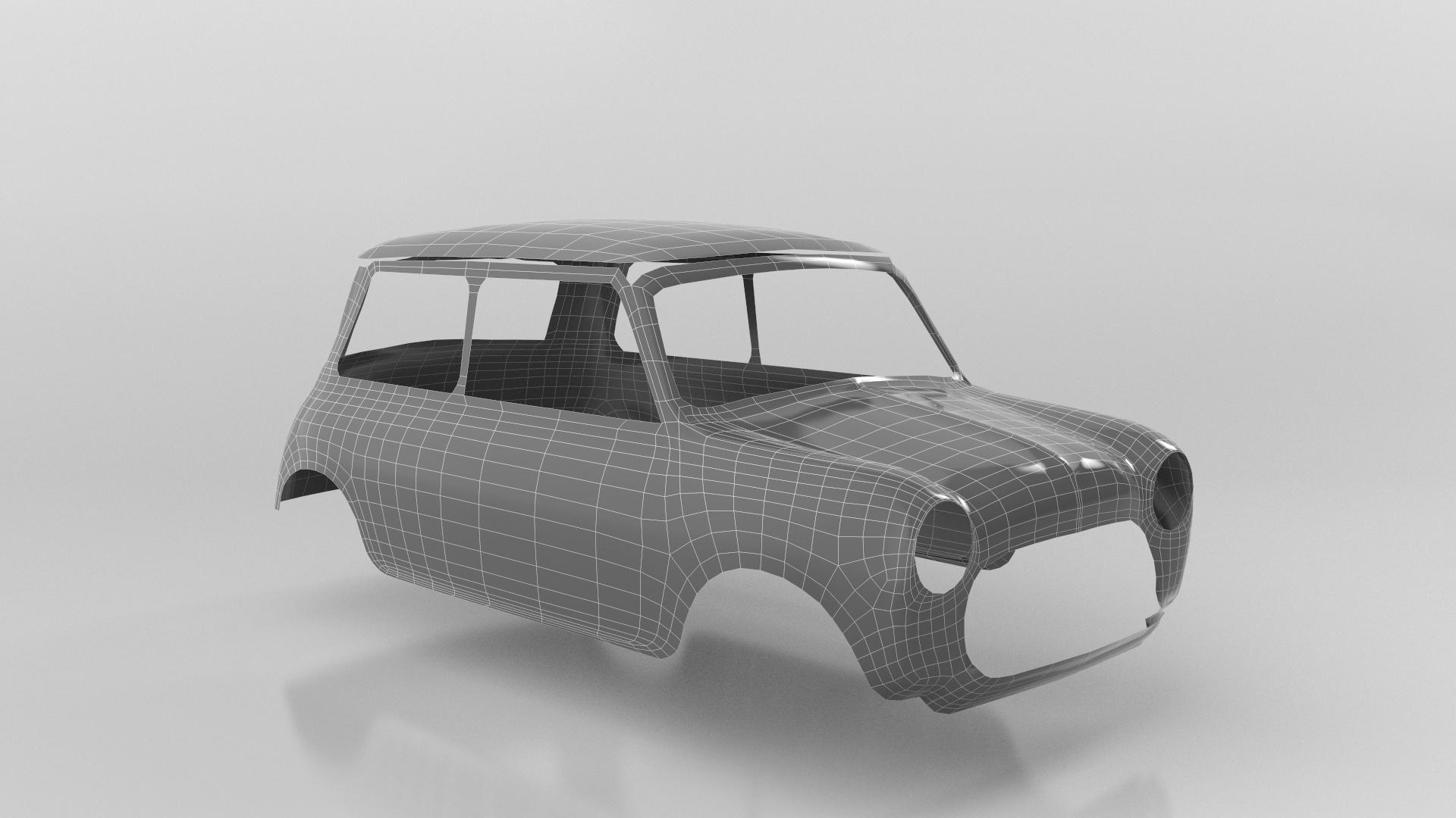 Monte Carlo Mini - Car Render Challenge 2020