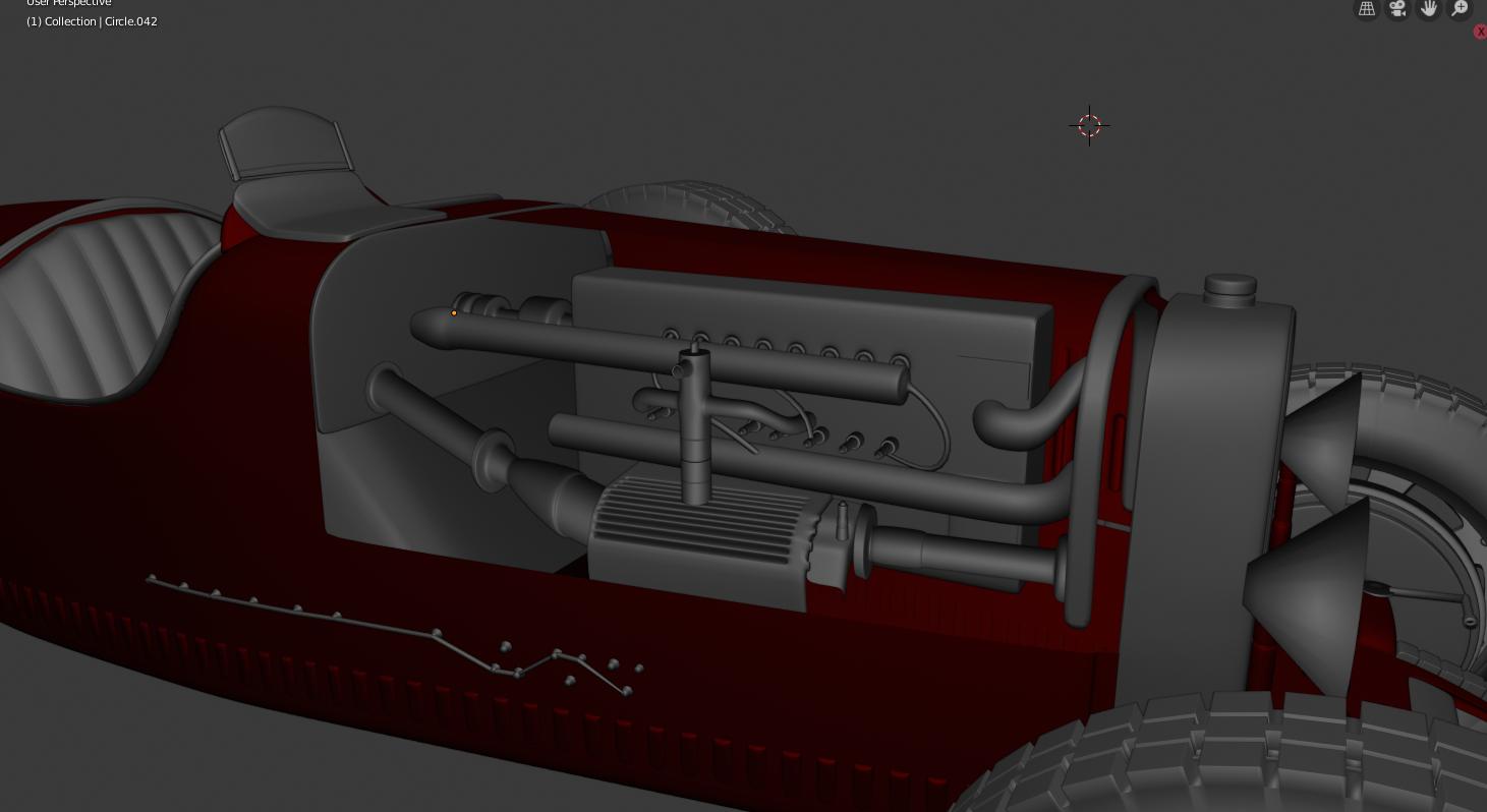 Bugatti 1927- Car Render Challenge 2020