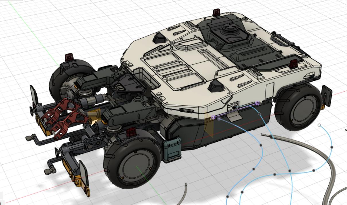 Tug for spaceship