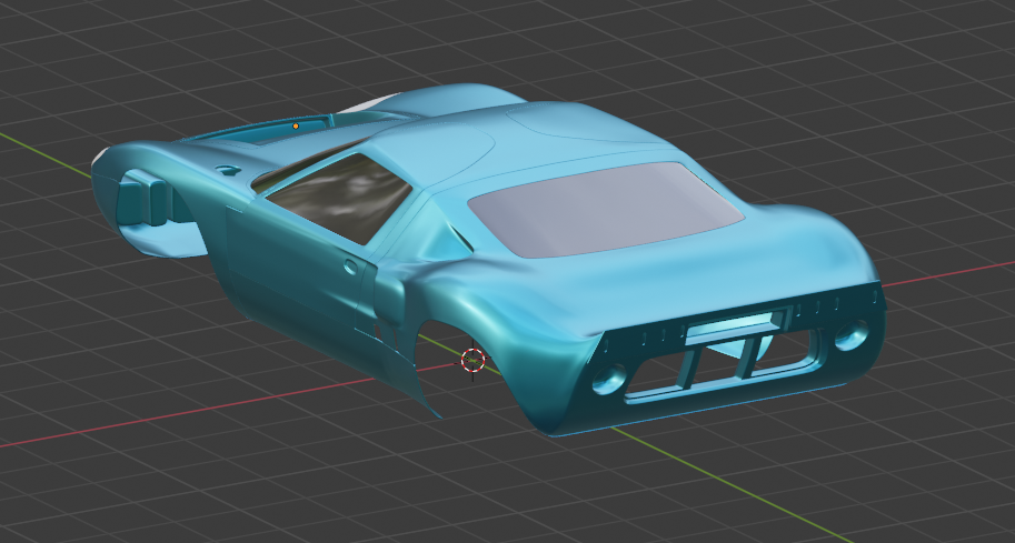 Model Car WIP - 2020