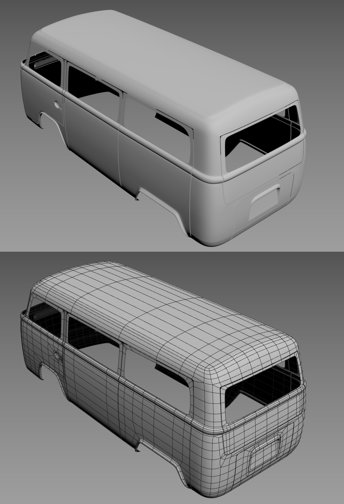 VW T2-Car Render Challenge 2020