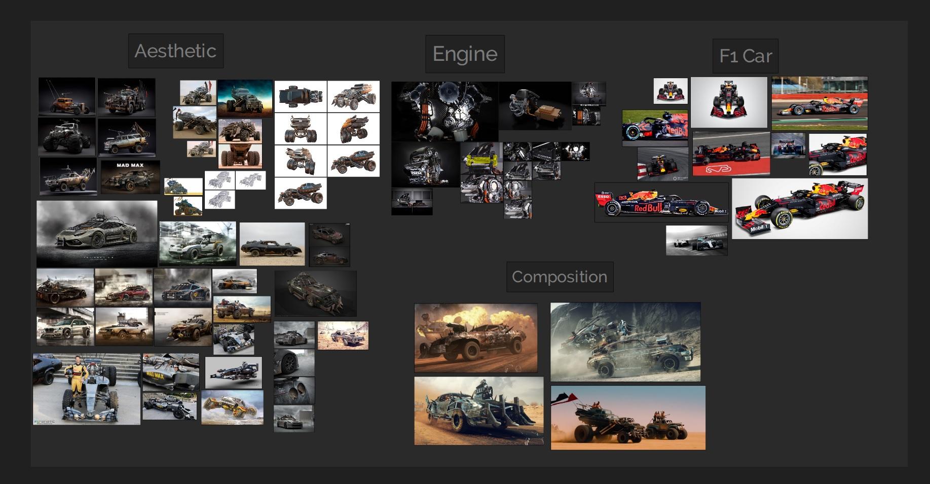 Car Render Challenge 2020-Mad Max F1