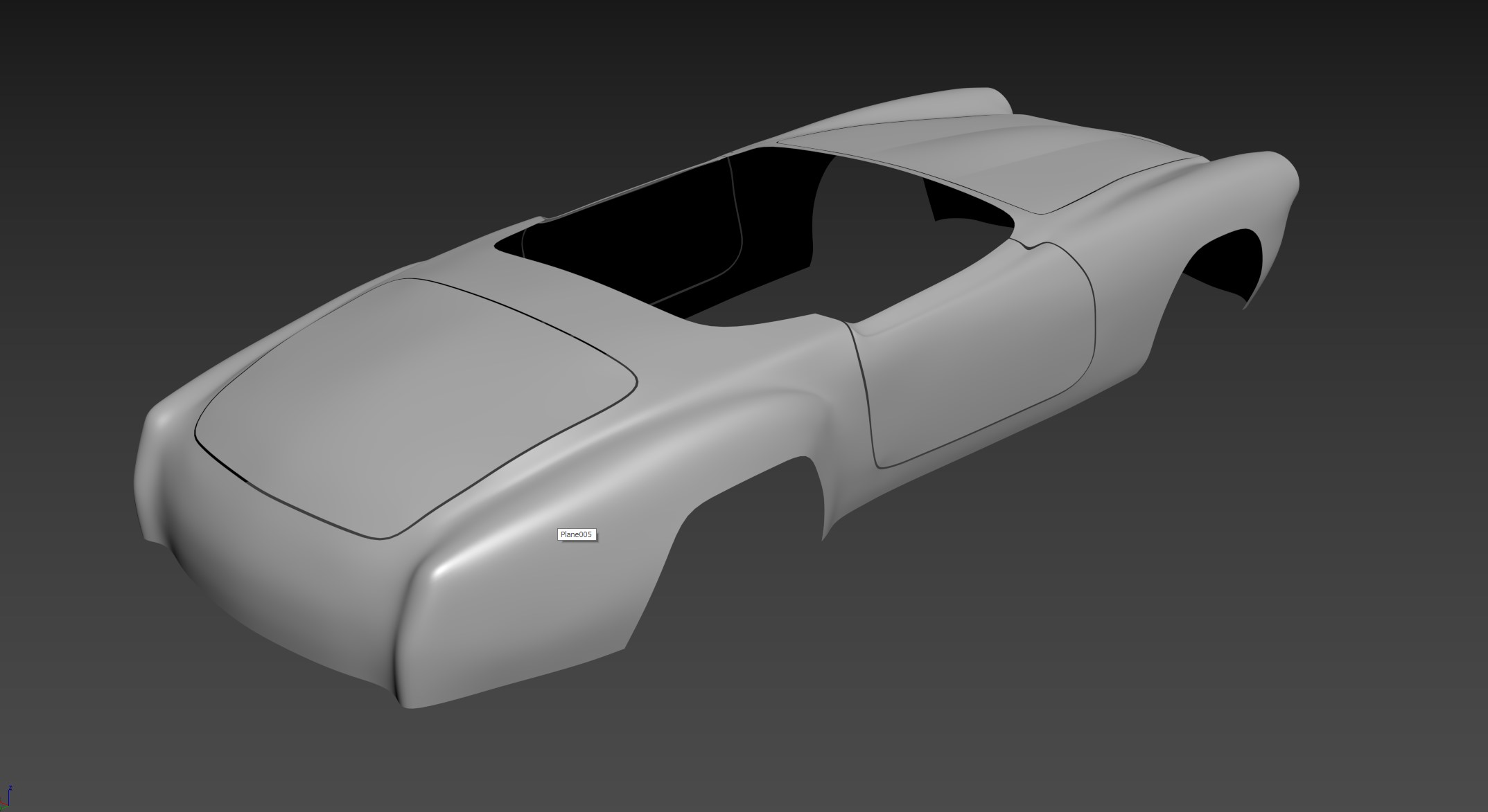 Car Render Challenge 2020 - 190SL