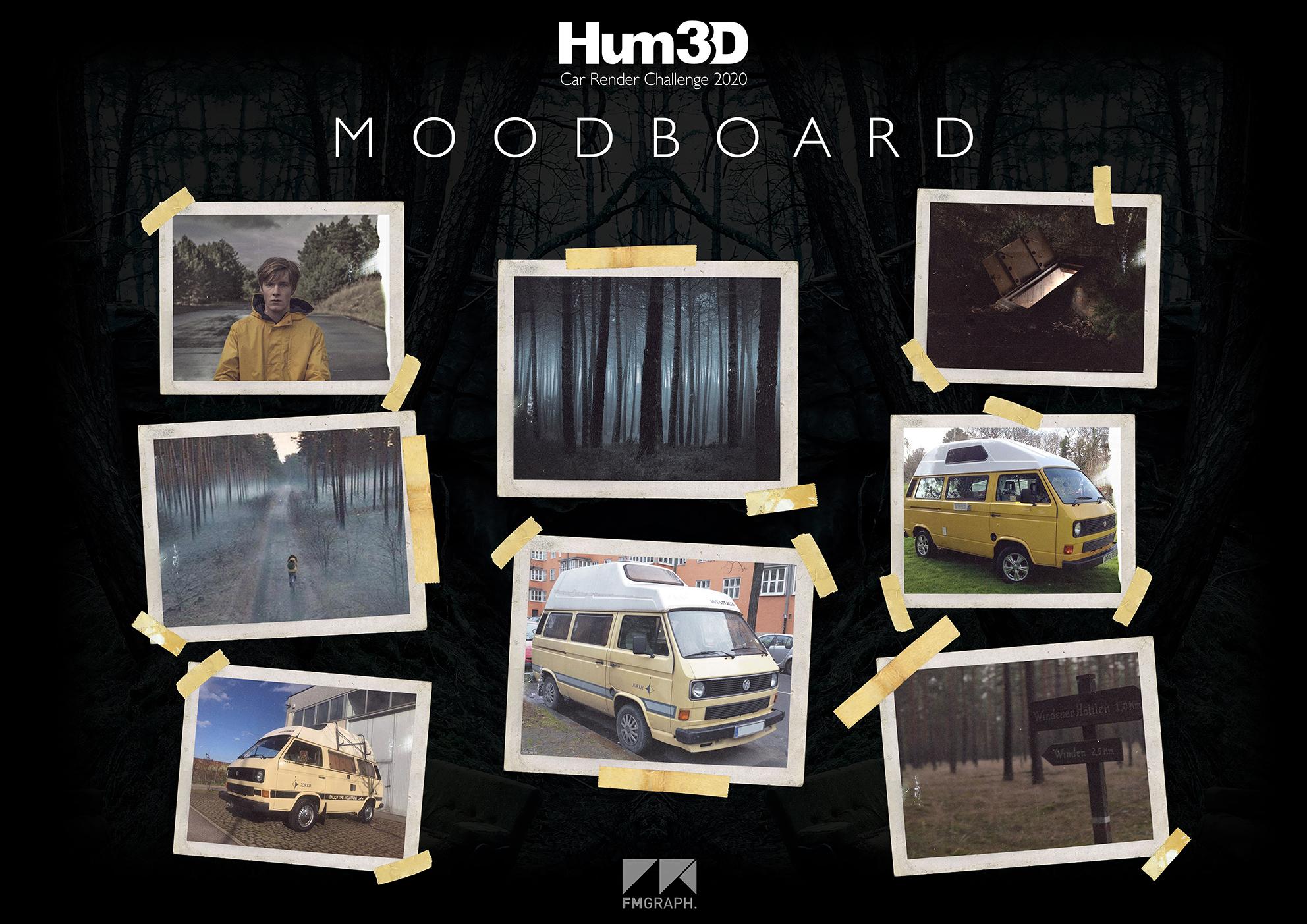 HUM3d Car Render Challenge 2020 - SIC MUNDUS CREATUS EST