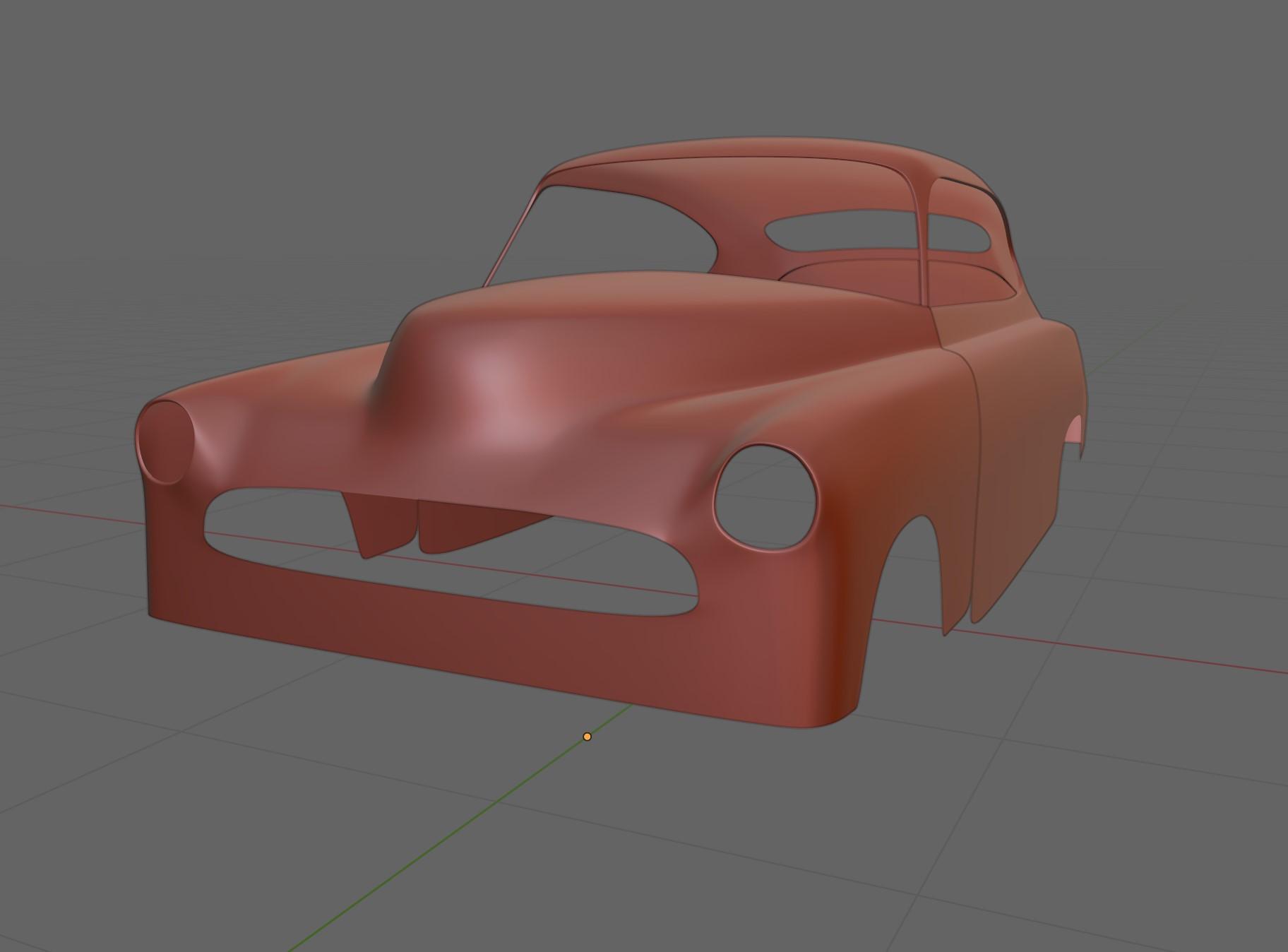 Car Render Challenge 2020 : Steampunk Fleetline
