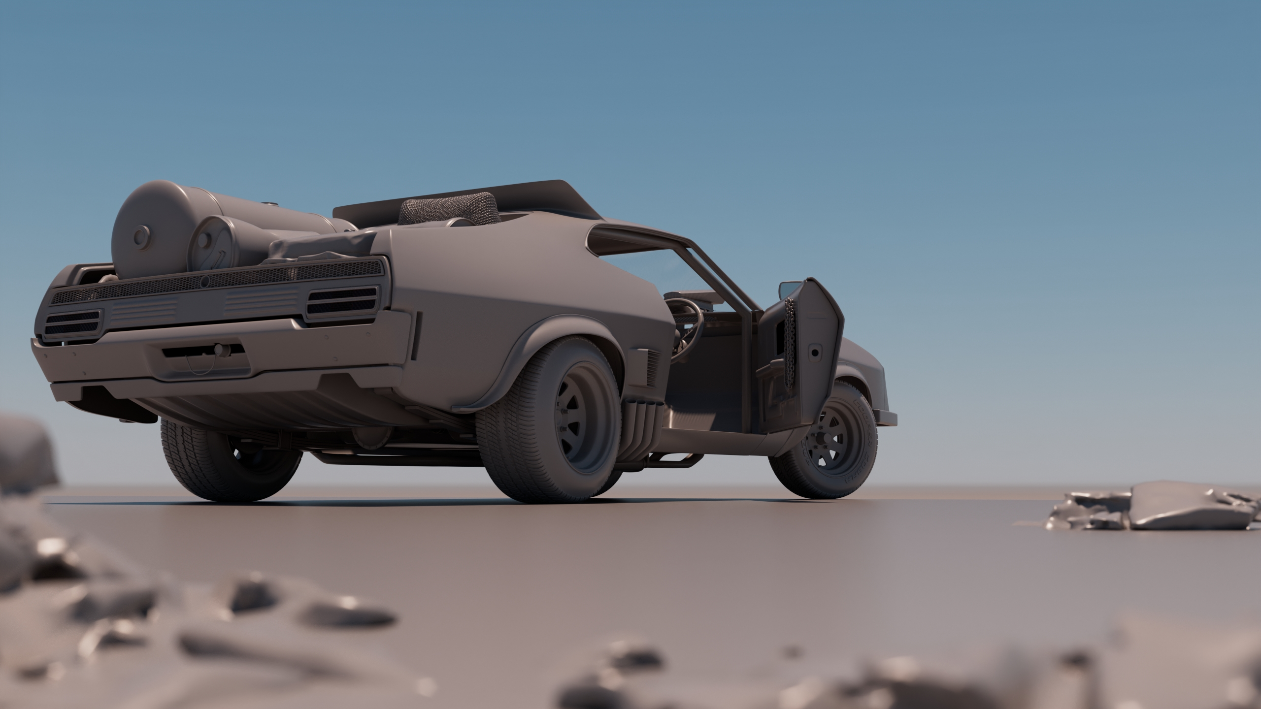 Interceptor Mad Max Fury Road - Car Render Challenge 2020