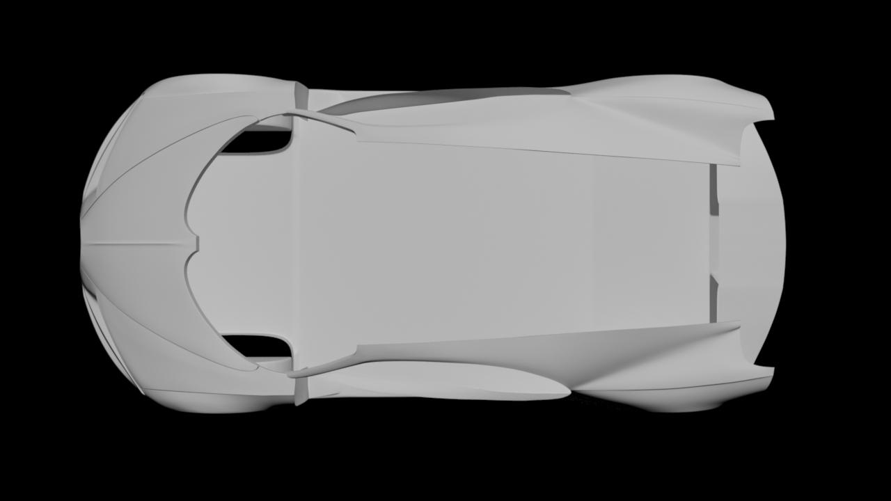 Bugatti Chiron - Car Render Challenge 2020