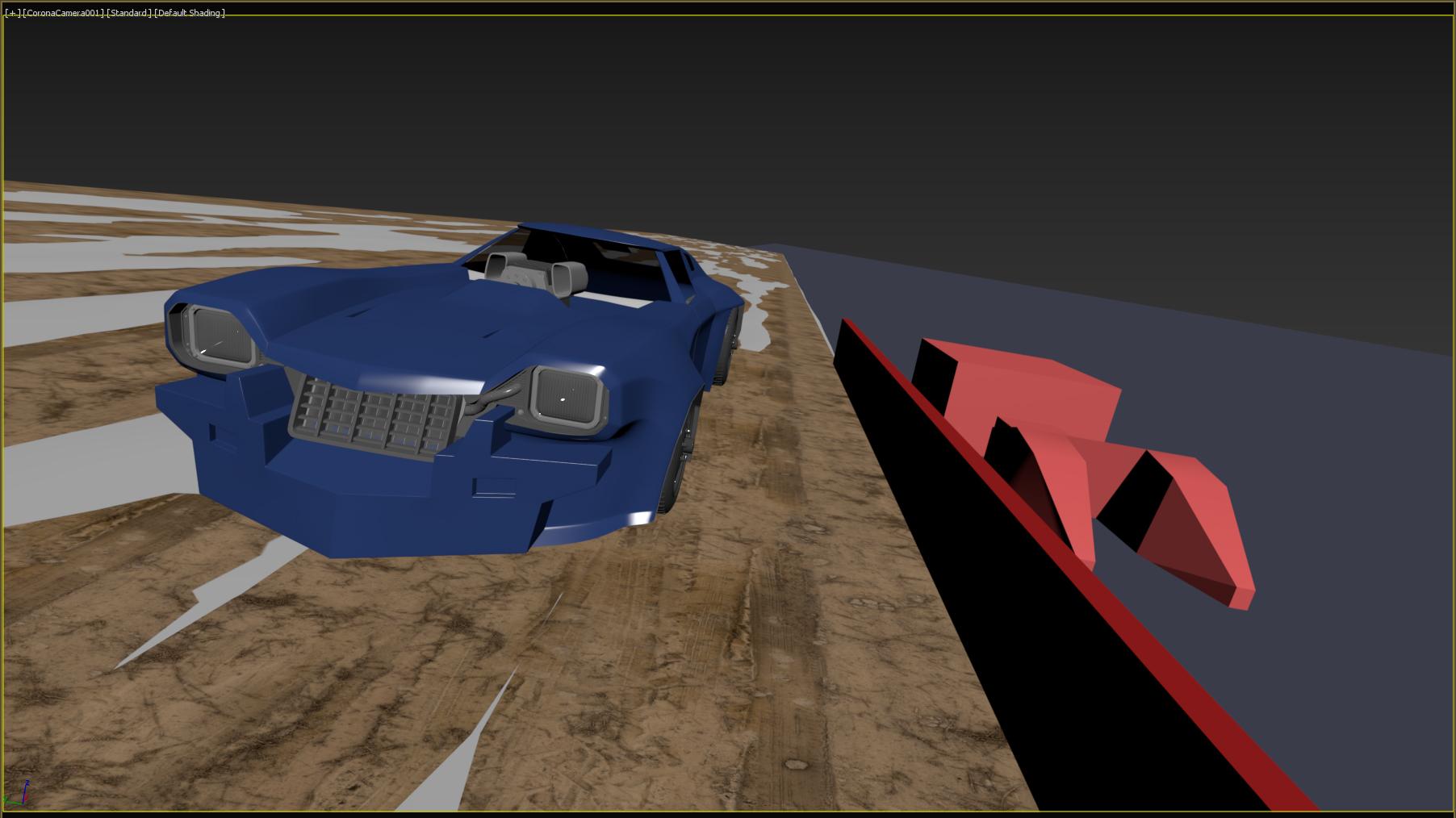 Car Render Challenge 2020 - Trans Am 20000 WR (RedLine)