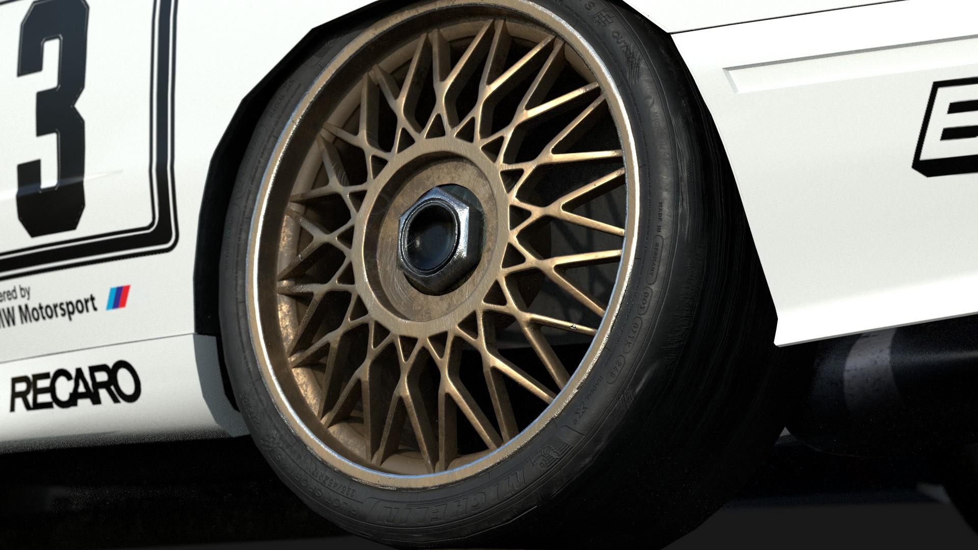 Car Render Challenge 2020 - Legendary DTM season 1992 - Mercedes-Benz 190E vs BMW M3 E30