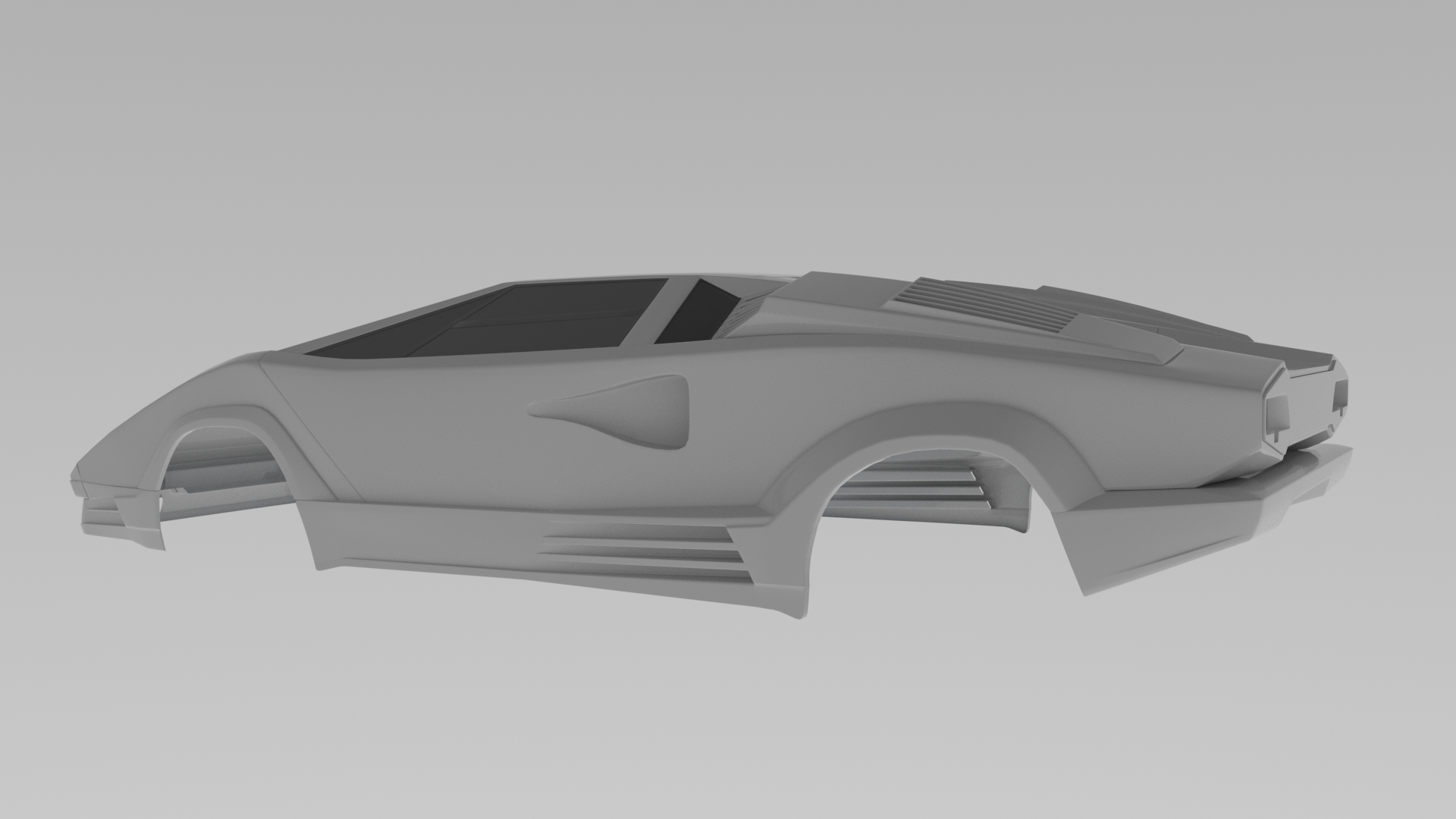 car render challengr 2020_ countach and neon