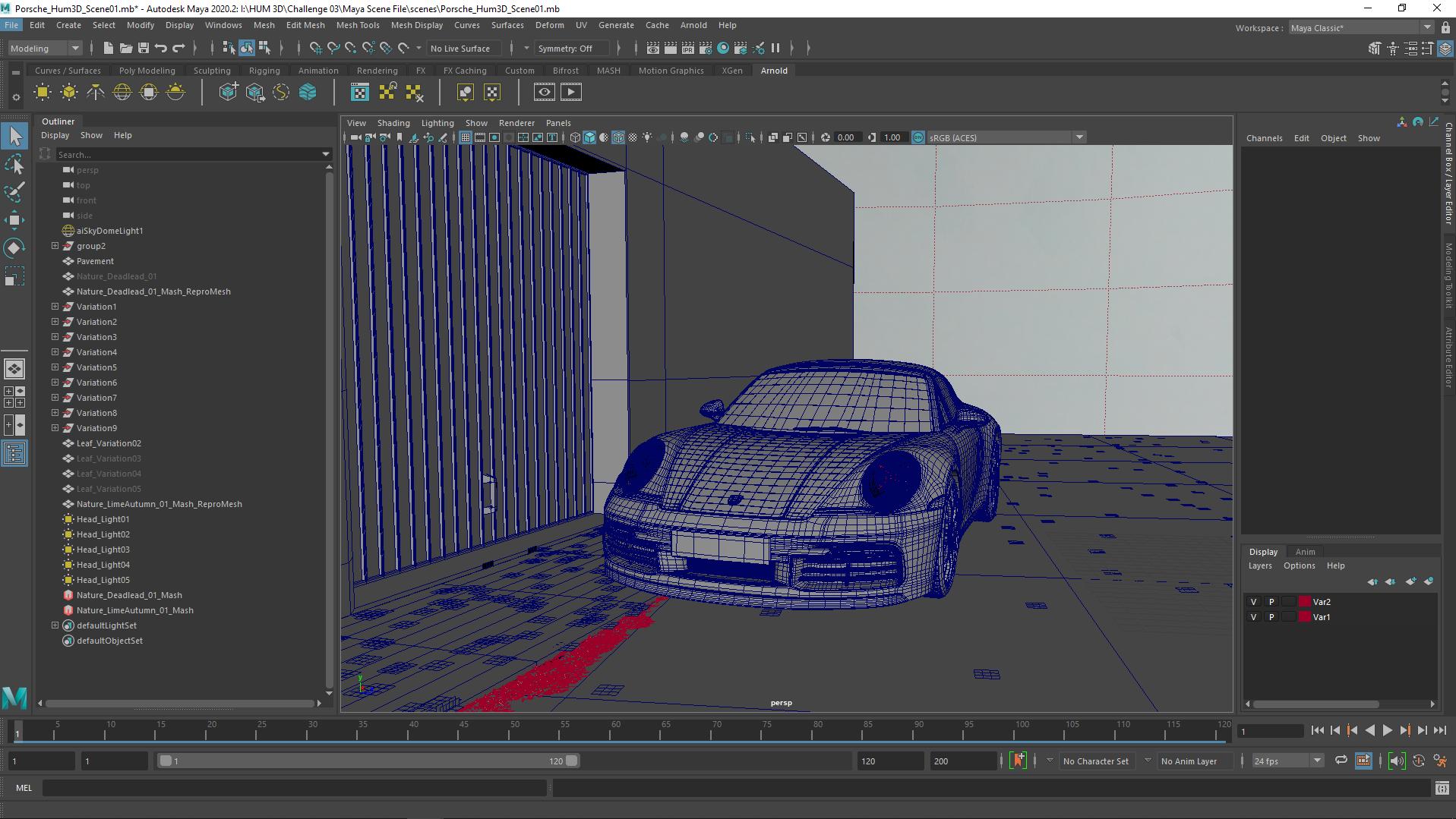 Hum 3D WIP Images