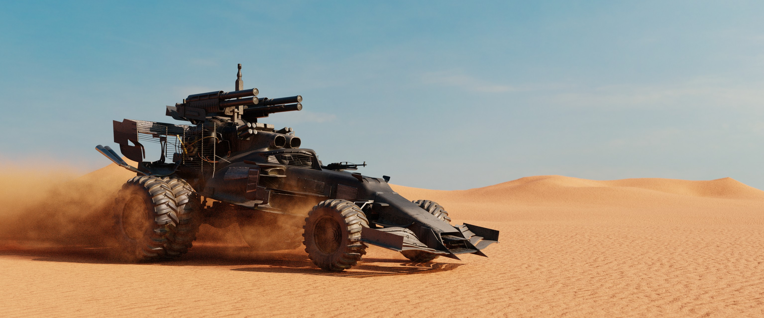 Car Render Challenge 2020-Mad Max F1