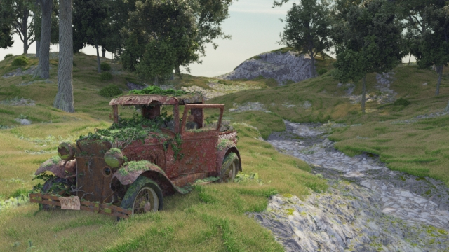 Car Render Challenge : 1930 Ford truck model A