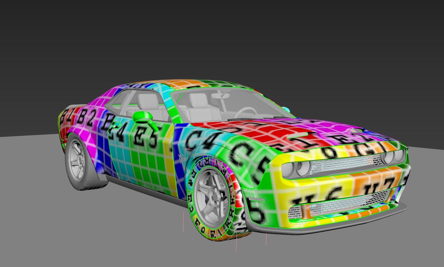 Demon - Car Render Challenge 2020