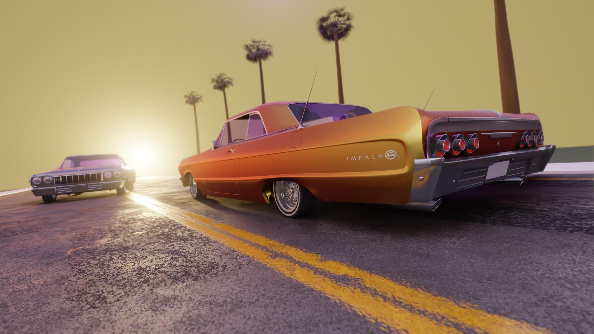 1964 Impala Low Rider - 2020 Hum3D Car Challenge