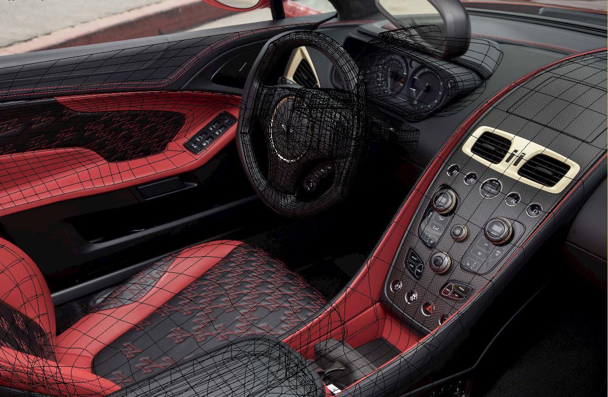 HUM3d Car render challenge 2020 Aston Martin Vanquish Zagato