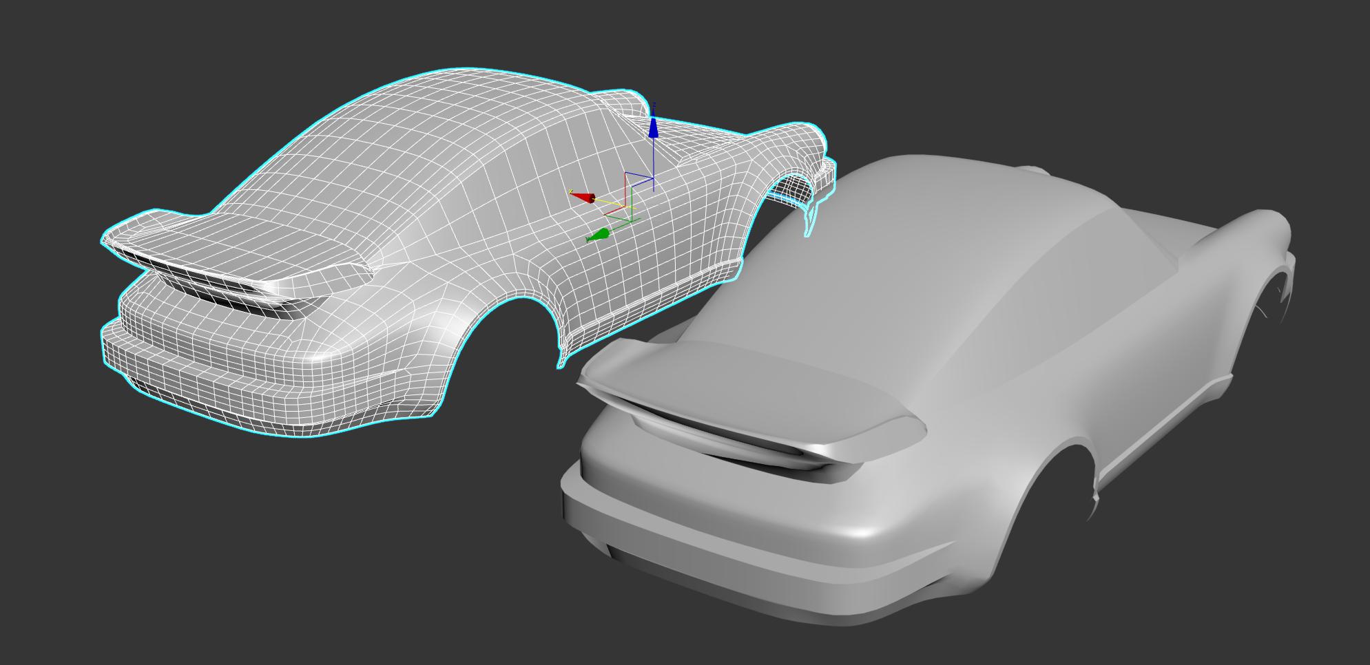 Car Render Challenge 2020 - Porsche 930