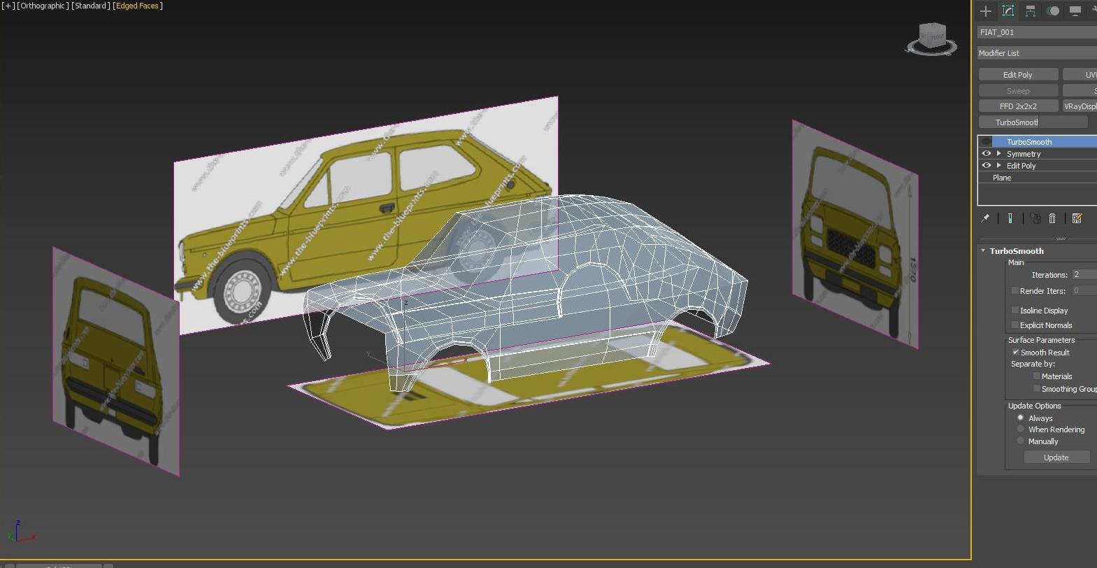Car Render Challenge 2020 - sleeper