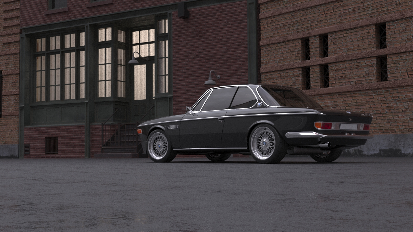 car render challenge 2020- bmw e9