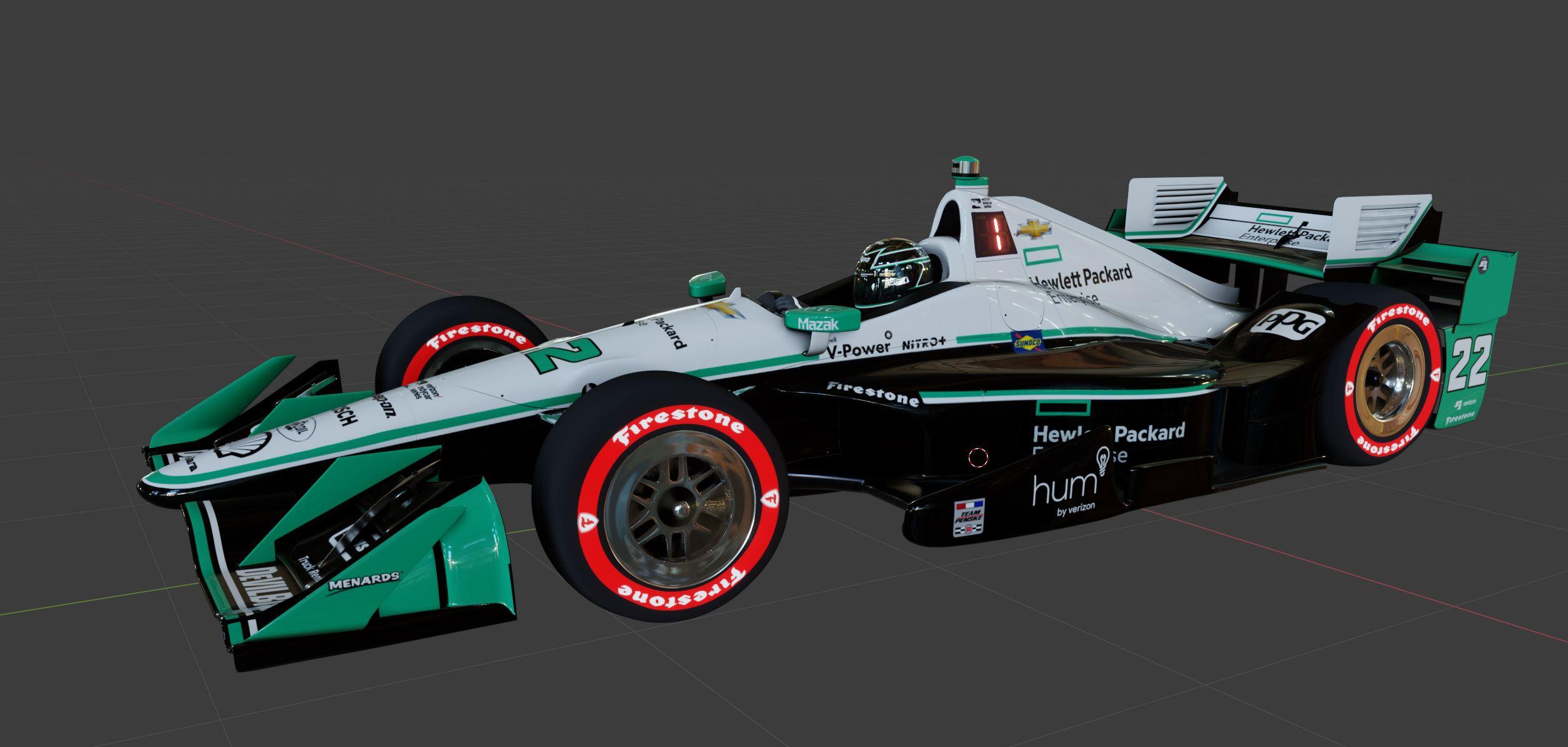Indycar Dallara DW12 Aerokit