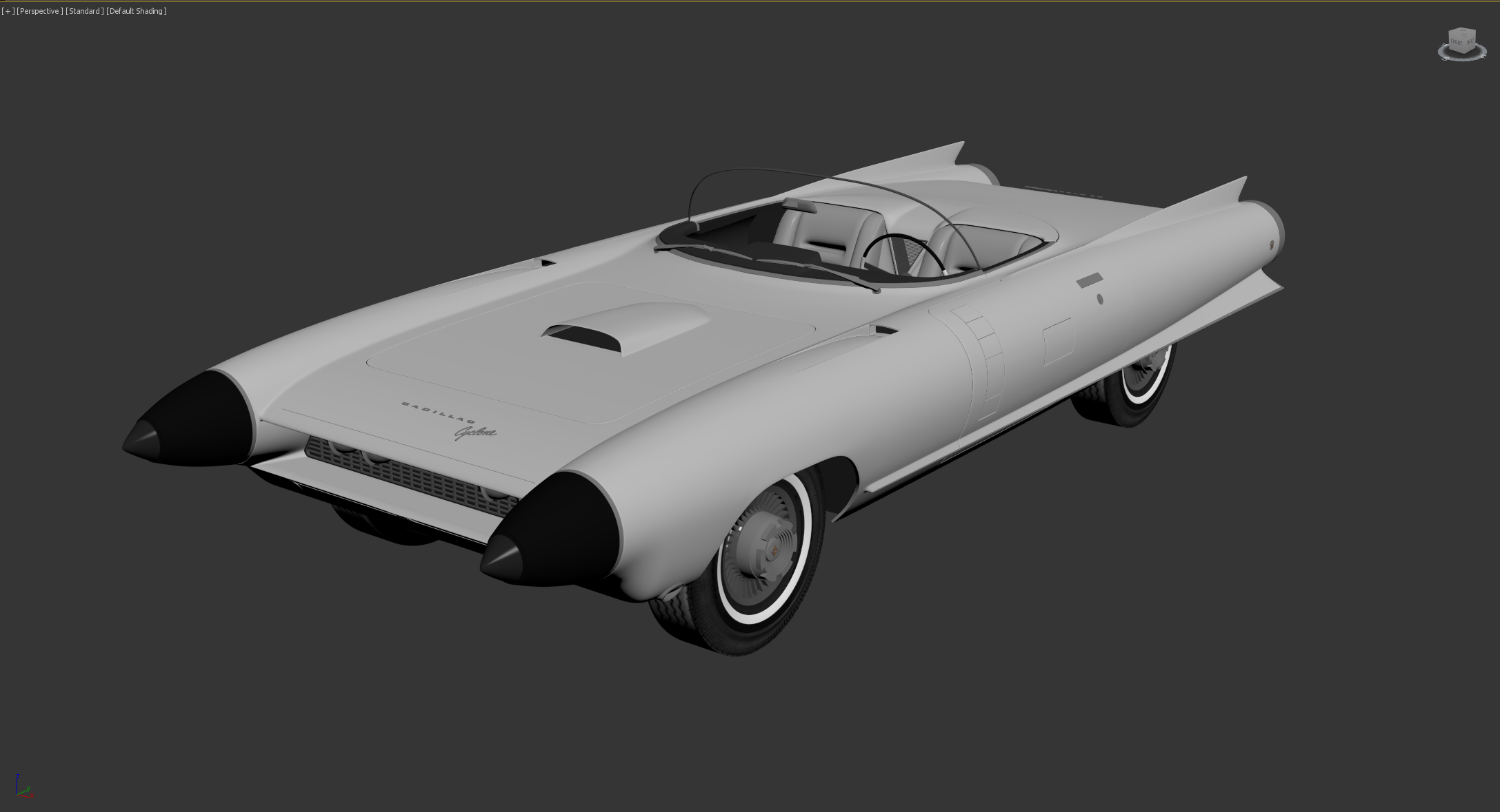 Car Render Challenge 2020 - Cadillac Cyclone