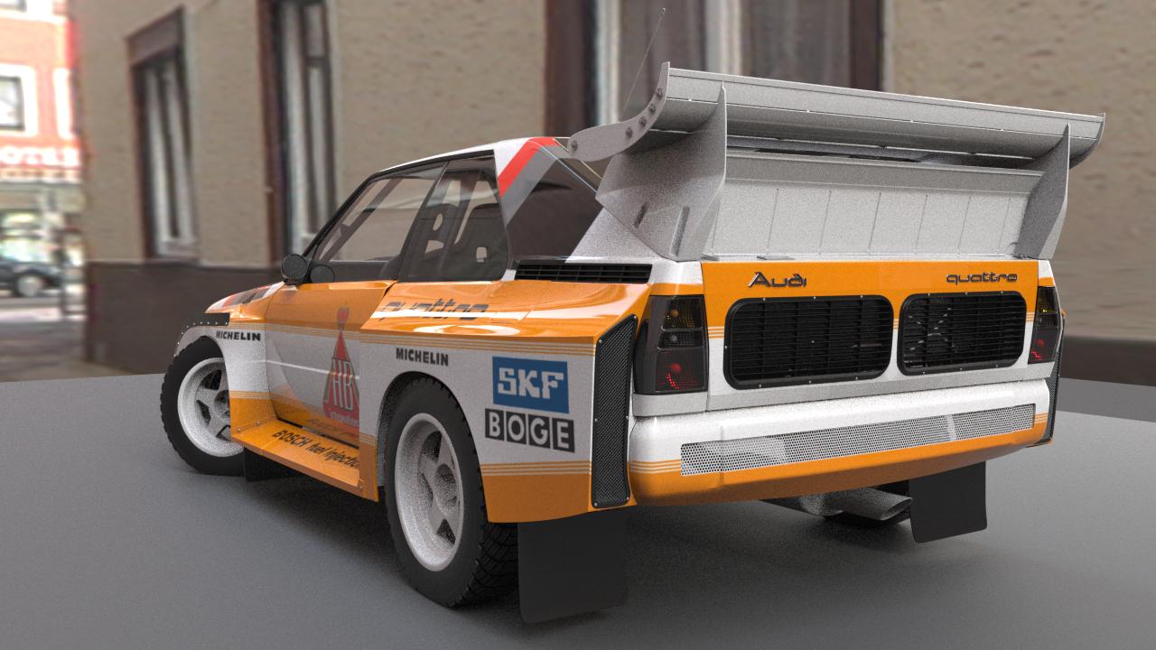 Car Render Challenge 2020 - Audi Quattro S1 E2