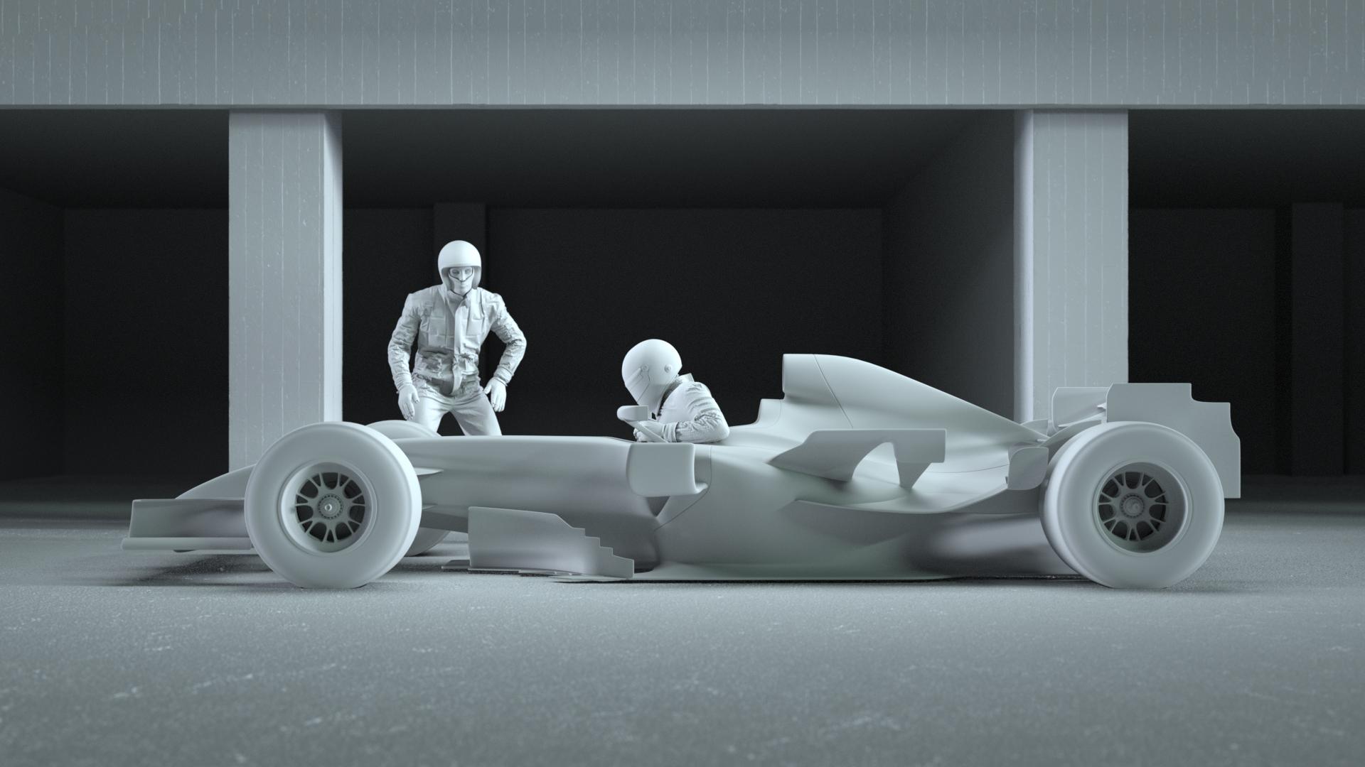 2020 car render challenge - Glory Days