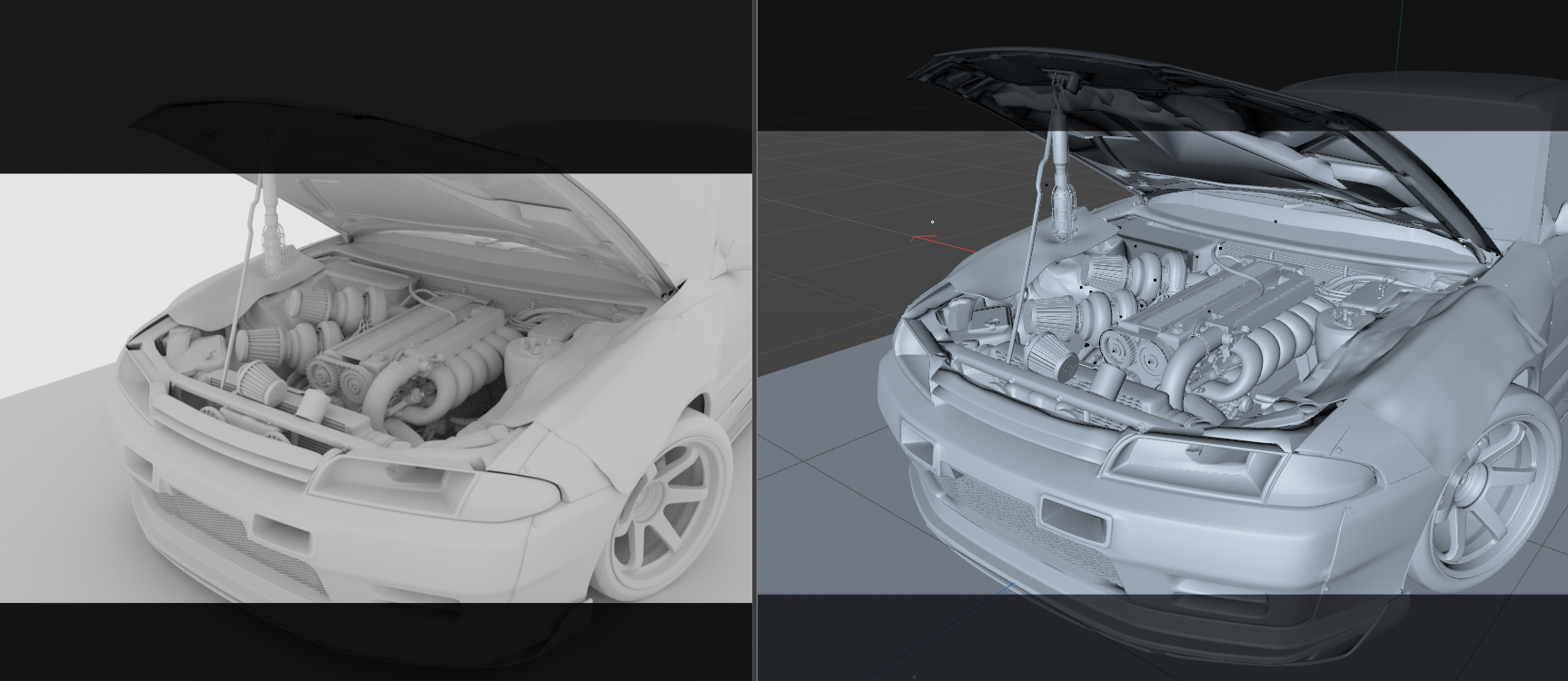 2021 Car Render Challenge - R32 - Vengeance