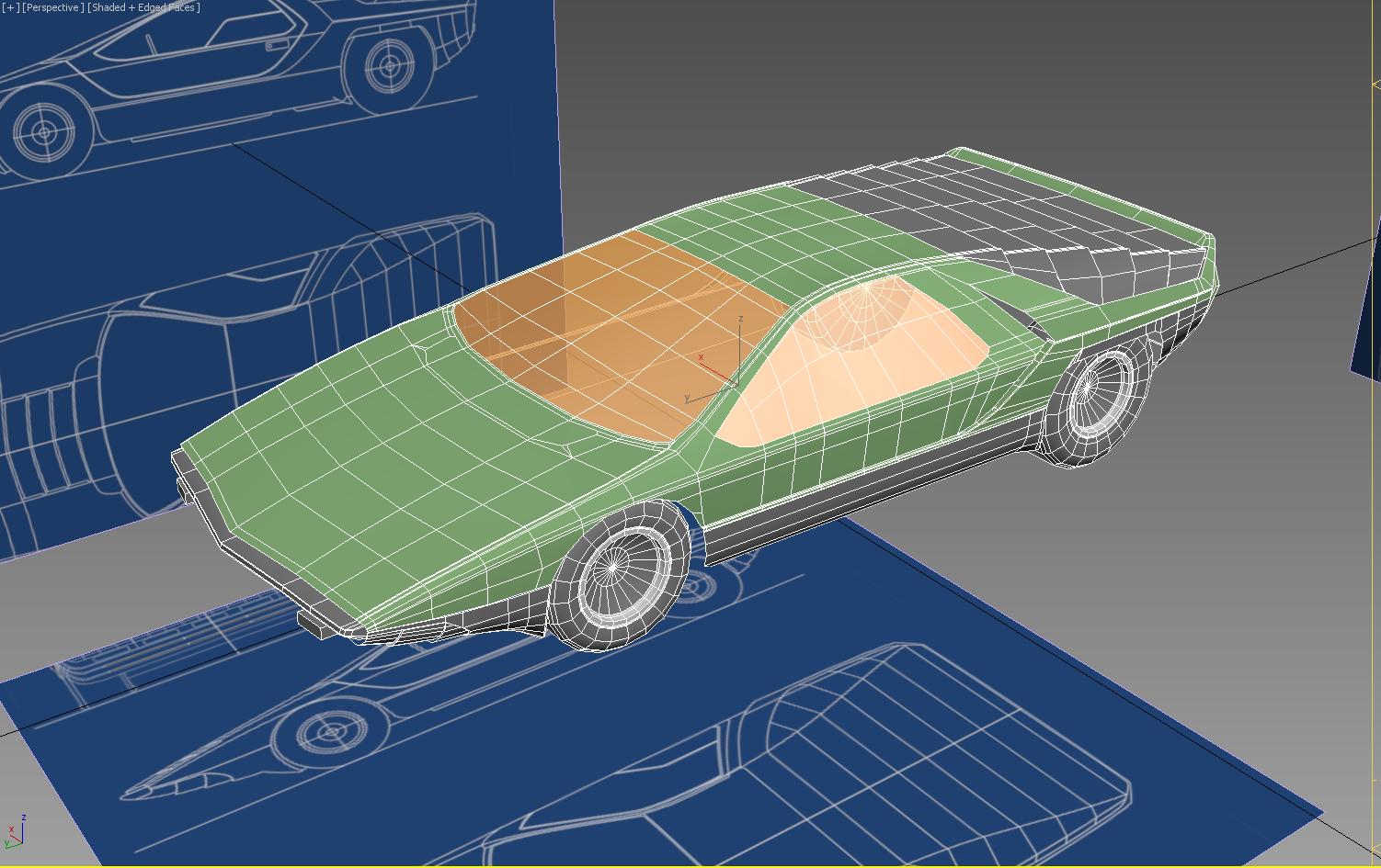 2021 Car Render Challenge - Alfa Romeo Carabo