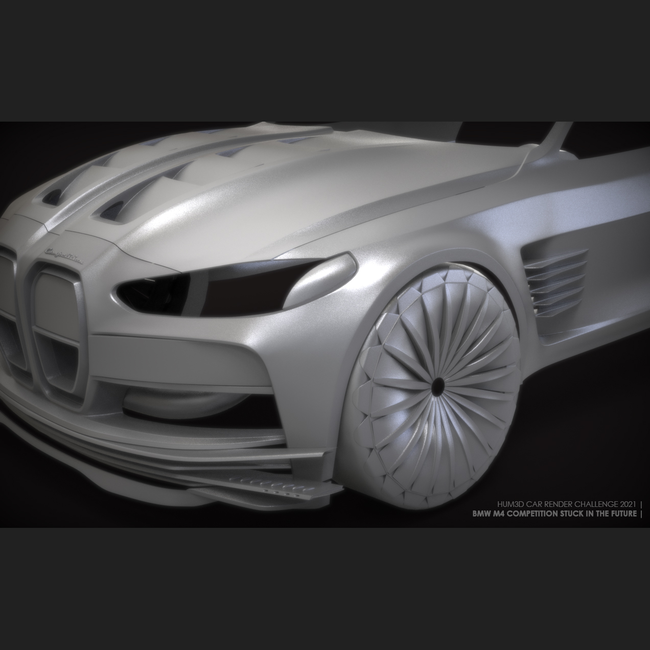 Car Render Challenge 2021 - BMW M4 Competition 2021 - Stuck in the future