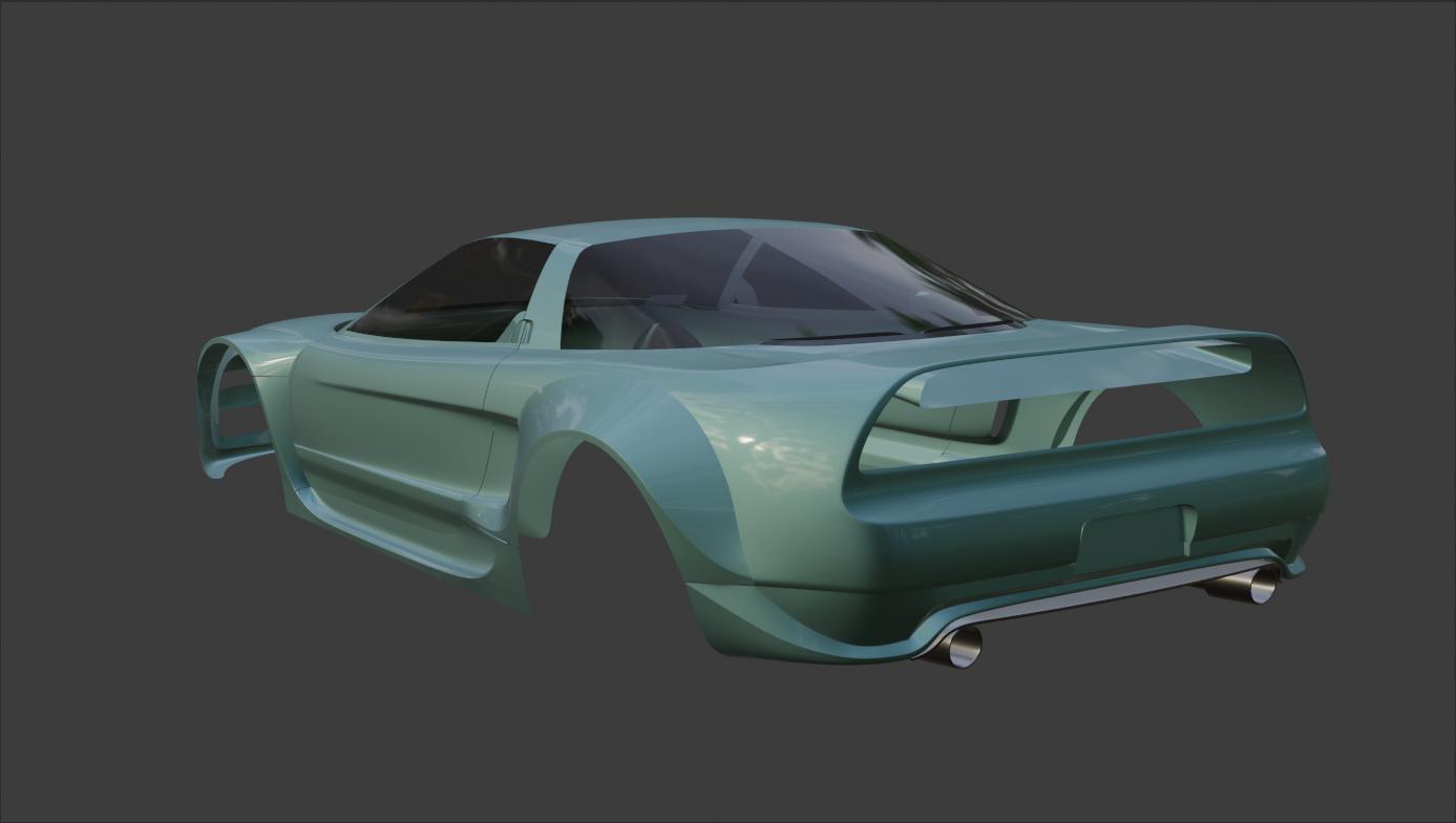 Car Render Challenge 2021 - Honda NSX