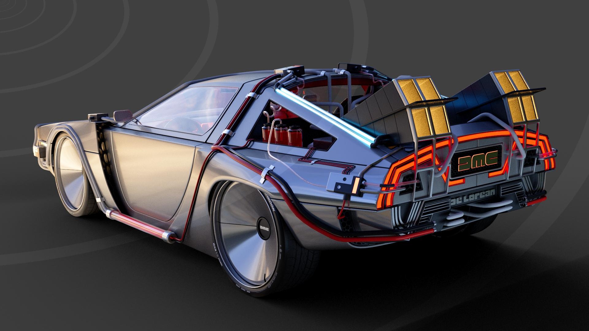 Back To The Future DeLorean DMC 2022