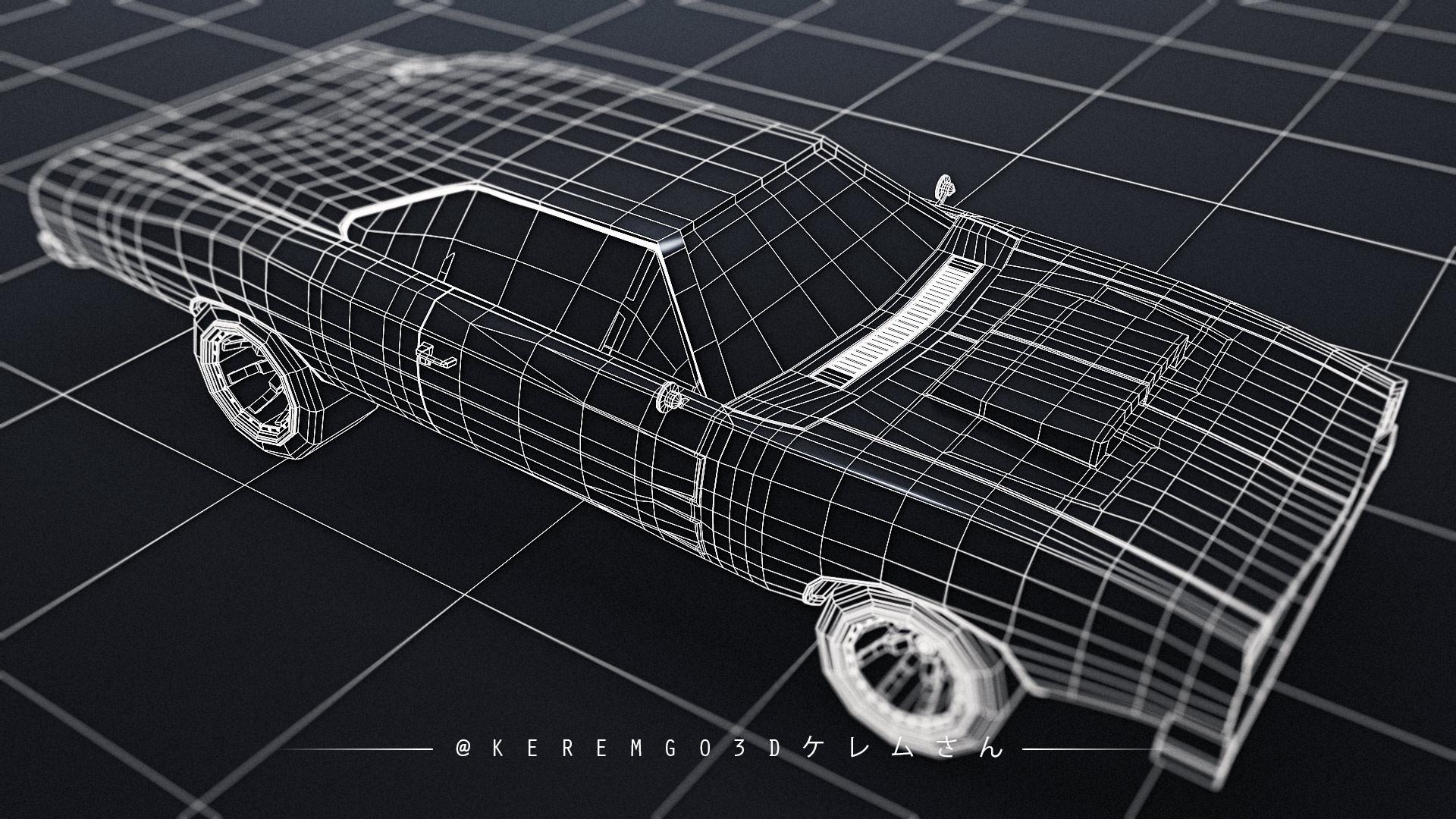 Car Render Challenge 2021 - Kerem Go's Entry WIP
